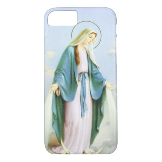 Virgin Mary Crescent Moon iPhone 7 Case
