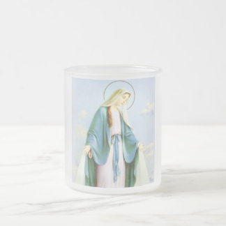 Virgin Mary Crescent Moon Mug