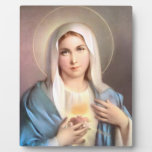VIRGIN MARY DISPLAY PLAQUES