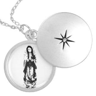 Virgin Mary Full length necklace