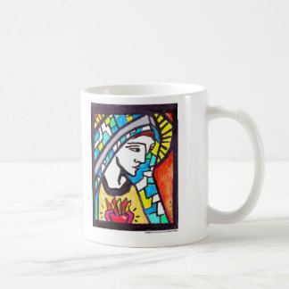 Virgin Mary Goods Classic White Coffee Mug