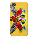 Virgin Mary halo wings iPhone 4/4S Covers