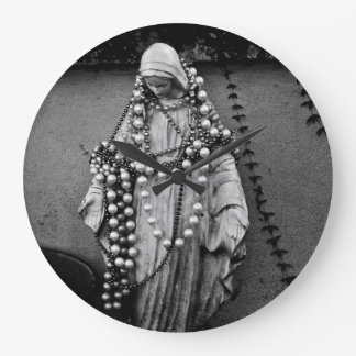 Virgin Mary Madonna Wall Clock