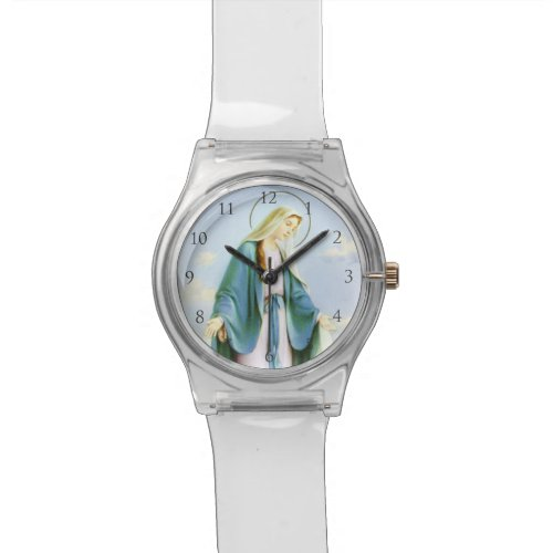 Virgin Mary_ May28th Watch_With Numbers Watch
