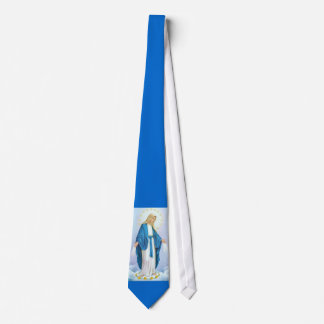 Virgin Mary Our Lady of Grace Necktie 2