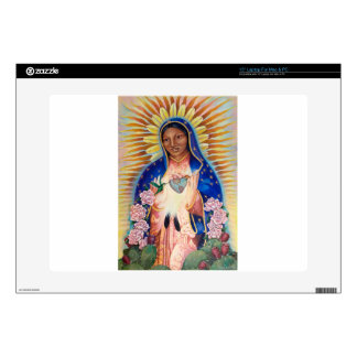 "Virgin Mary - Our Lady Of Guadalupe 15"" Laptop Skin"