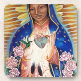Virgin Mary - Our Lady Of Guadalupe Beverage Coaster