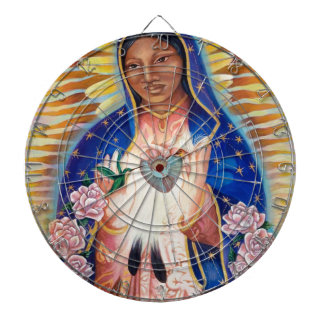 Virgin Mary - Our Lady Of Guadalupe Dart Board