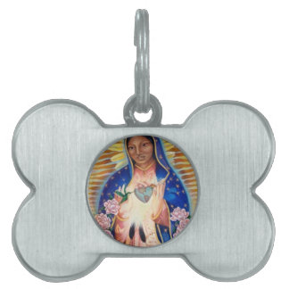 Virgin Mary - Our Lady Of Guadalupe Pet ID Tag