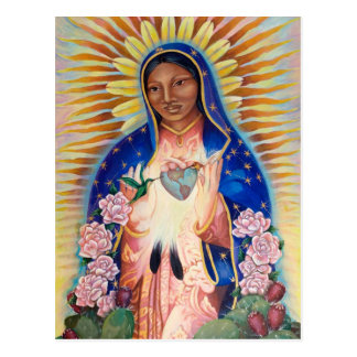Virgin Mary - Our Lady Of Guadalupe Postcard