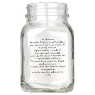 Virgin Mary Our Lady Prayers Inspirational Love Mason Jar
