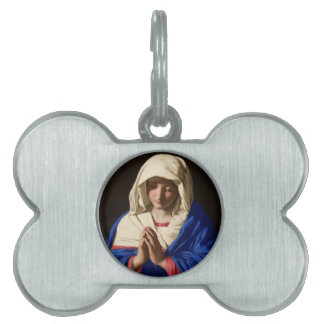 Virgin Mary Pet ID Tag