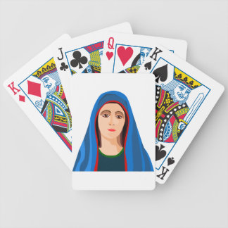 Virgin Mary Playing Cards