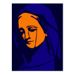 Virgin Mary Post Cards