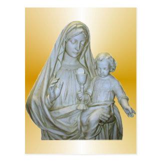 Virgin Mary Post Card