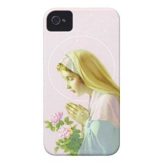 Virgin Mary Prayer Case-Mate iPhone 4 Cases