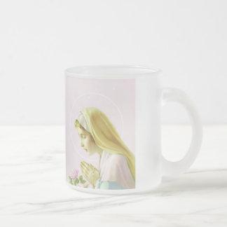 Virgin Mary Prayer Mug Cup