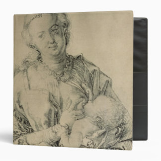Virgin Mary suckling the Christ Child, 1512 3 Ring Binder