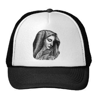 virgin mary trucker hat