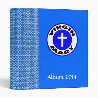 Virgin Mary Vinyl Binders