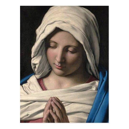 Virgin Mary / Virgen Maria Postcard