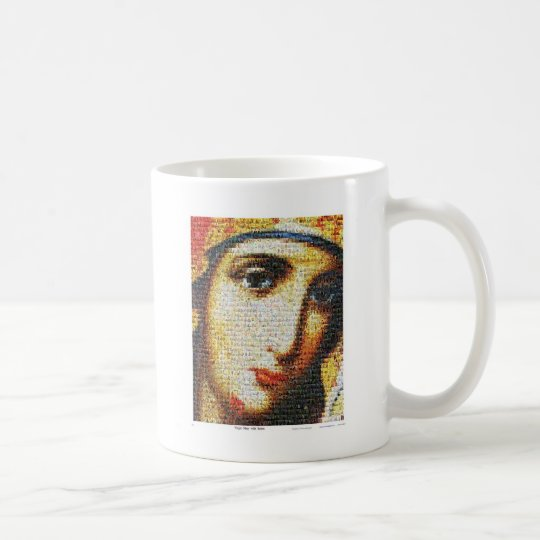 Virgin Mary with Saints Coffee Mug