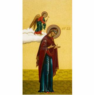 Virgin Mary's Russian icon Cutout