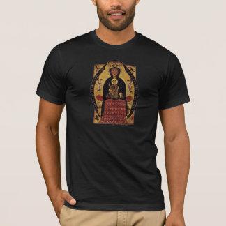 Virgin Mother and Child, Vintage Portrait T-Shirt