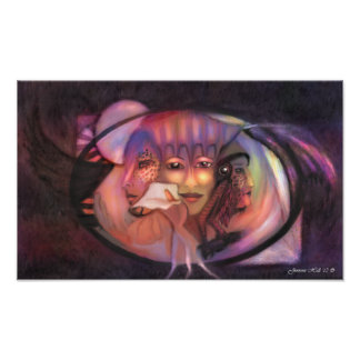 Virgin, Mother, Crone Poster