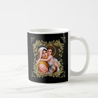Virgin Mother Mary with Baby Jesus Coffee Mug