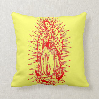 Virgin Mother on Pillow