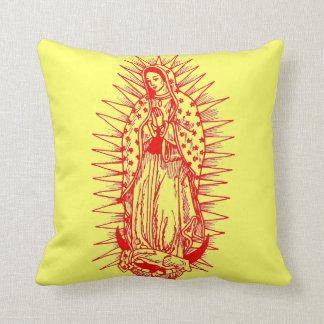 Virgin Mother on Pillow