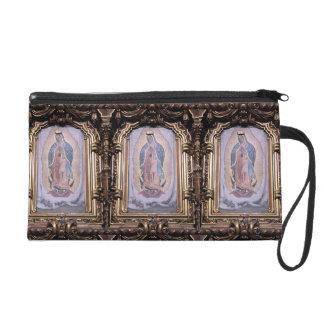 Virgin of Guadalupe Wristlet Clutch