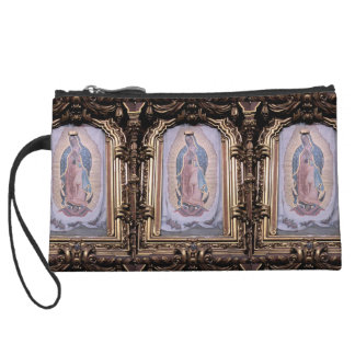 Virgin of Guadalupe Wristlet Clutch