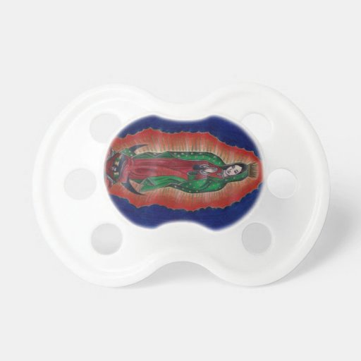 Virgin of Guadalupe BooginHead Pacifier