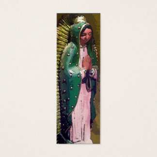 Virgin of Guadalupe Bookmark Mini Business Card
