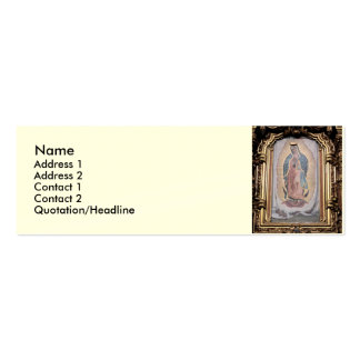 Virgin of Guadalupe Double-Sided Mini Business Cards (Pack Of 20)
