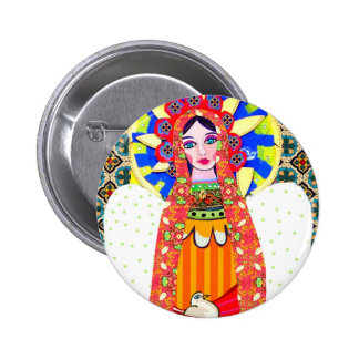 Virgin of Guadalupe Pinback Buttons