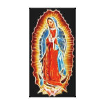 Virgin of Guadalupe Canvas Prints