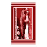 Virgin of Guadalupe Christmas Gift Tags Double-Sided Standard Business Cards (Pack Of 100)
