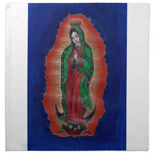 Virgin of Guadalupe Cloth Napkin