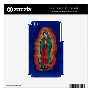 Virgin of Guadalupe Decals For iPod Touch 4G