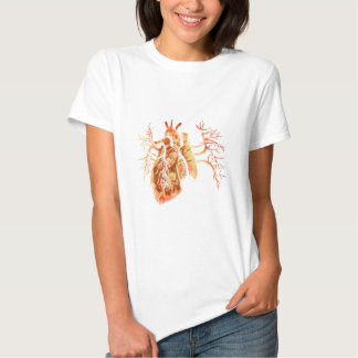 Virgin of Guadalupe in Real heart Shirts