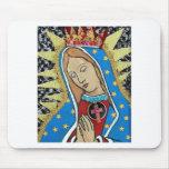 Virgin of Guadalupe Mousepads