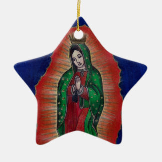 Virgin of Guadalupe Christmas Ornaments