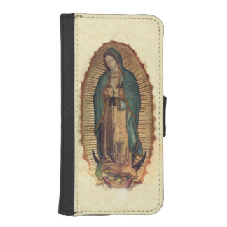 Virgin Of Guadalupe, Our Lady iPhone SE/5/5s Wallet