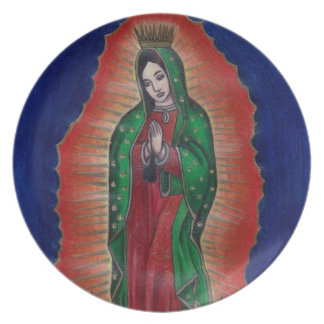 Virgin of Guadalupe Plate