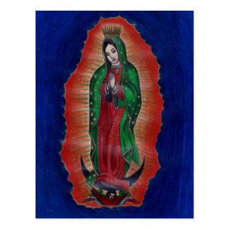 Virgin of Guadalupe Postcard