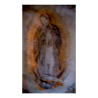 Virgin of Guadalupe Poster
