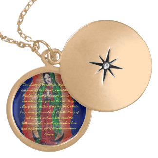 Virgin of Guadalupe Prayer Necklace